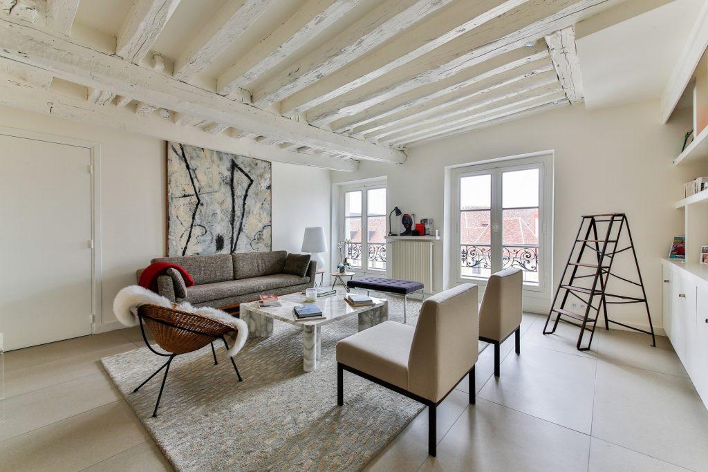 minimalist living space