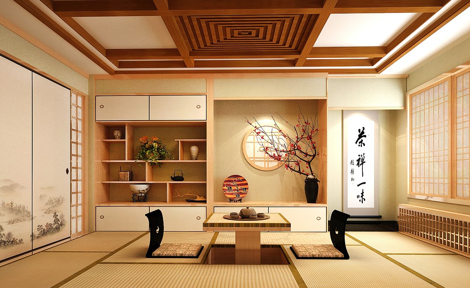 japanese living space